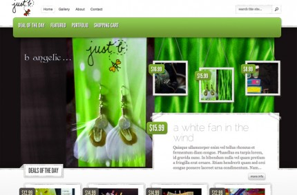 Just B Jewelry Store Ecommerce