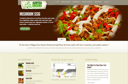 Azotea Greens Vegetarian Restaurant